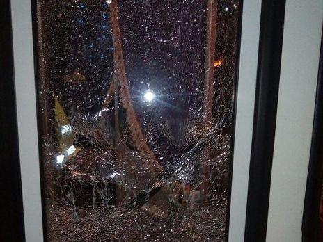 ВДнепре неизвестные обстреляли городской троллейбус, пострадавших нет