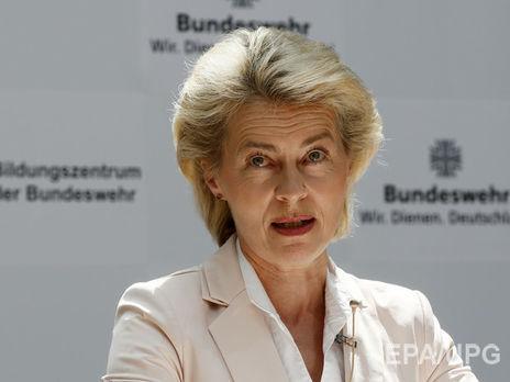 Министр обороны Германии призвала Трампа быть жестким сРоссией