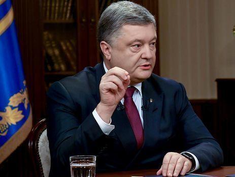 Полагаемся на продление санкций против РФ— Порошенко вШвеции