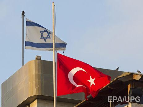 Турция иИзраиль впервый раз зашесть лет обменялись послами