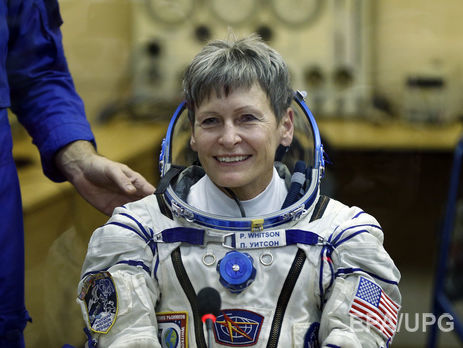 НаМКС отправилась старейшая вистории астронавтка