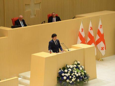 Избраны спикер ивице-спикеры парламента Грузии
