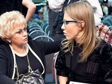 Мать Ксении Собчак поведала ородах дочери