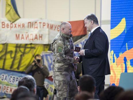 Порошенко размышляет над созданием вУкраинском государстве «резервной армии»