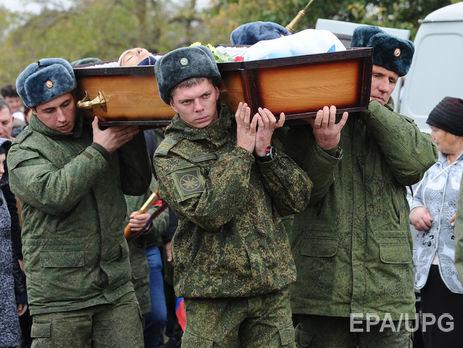 Минобороны оплатило похороны неменее тысячи действующих военных с2013 года