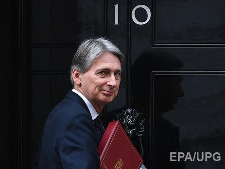Филип Хэммонд: выход изЕС обойдется Великобритании в122 млрд фунтов
