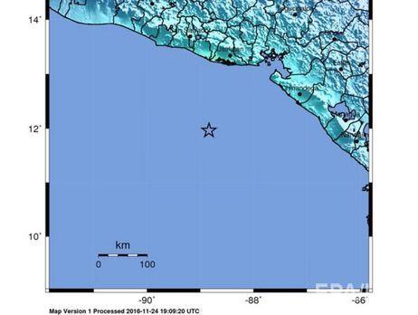 Странам Центральной Америки грозит цунами после землетрясения магнитудой 7,2