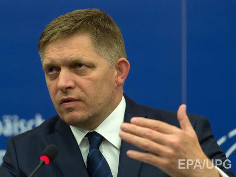 Словацкий премьер назвал репортеров «грязными проститутками»