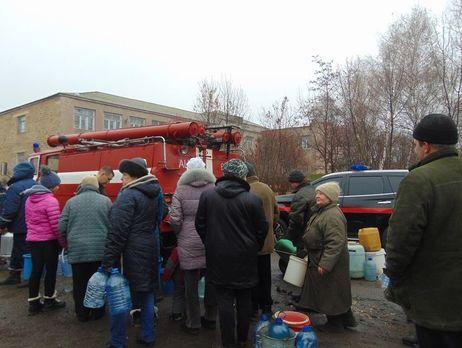 Жители Торецка остались без воды врезультате артобстрела боевиков,— ГСЧС