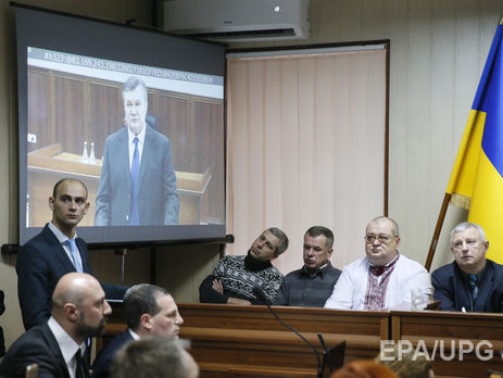 Янукович заявляет, что покинул Украинское государство для предотвращения гражданской войны