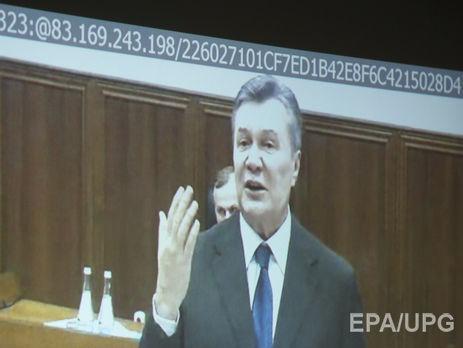 Следствие: Янукович впроцессе Майдана созванивался сПутиным иМедведчуком