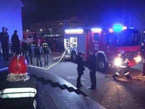 ВоЛьвове скончался мужчина, пострадавший впожаре вночном клубе