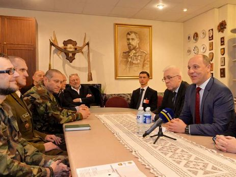 Парубий: Формирование вУкраинском государстве Резервной армии является вопросом нацбезопасности