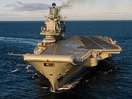 Реактивные самолеты немогут взлетать сединственного авианосца Путина