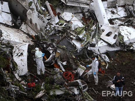 71 человек погиб в авиакатастрофе под Медельином