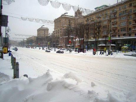 Вцентре Киева частично ограничено движение транспорта