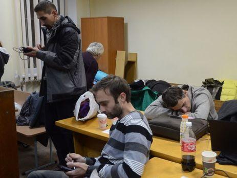 Дело оразгоне Евромайдана: пострадавшие вплоть доэтого времени блокируют зал суда
