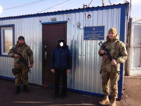 ВМарьинке задержали украинца, который шел воевать настороне боевиков