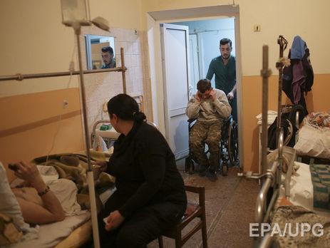 ВВинницкий госпиталь доставили 11 раненых военных, которых везли воЛьвов