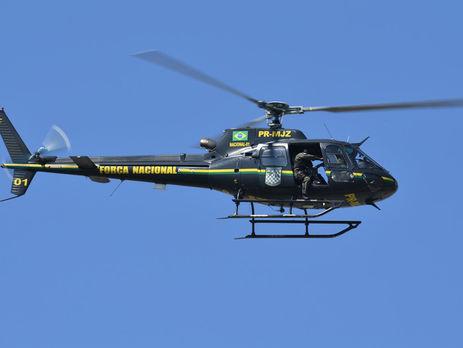 ВБразилии 4 человека погибли при крушении вертолета