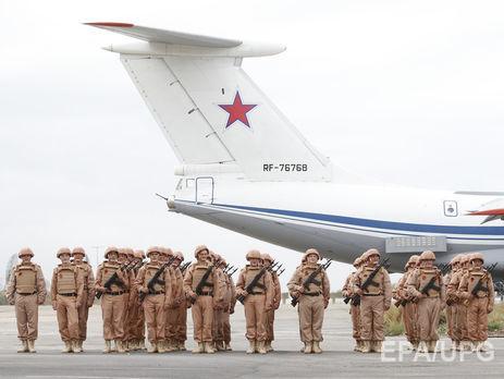 Неменее 710 тыс. тонн материальных средств доставлено группировкеРФ вСирии