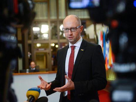 «24 виллы вМайями»: Яценюк привел свою угрозу вдействие