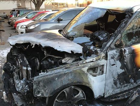 ВОдессе сожгли автомобиль депутата «Оппоблока»