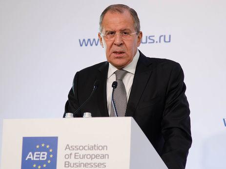 Лавров требует перейти к«прямым переговорам Киева иДонбасса»