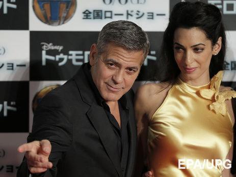Джордж Клуни разводится с юристом Юлии Тимошенко