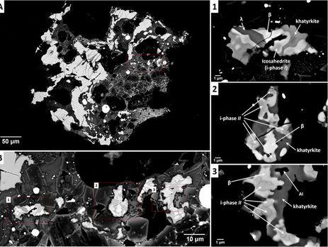 Вметеорите, упавшем на далеком Востоке, найден удивительный квазикристалл