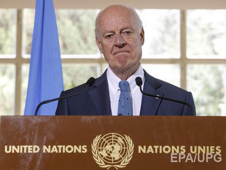 ООН хочет восстановить мирные переговоры поСирии