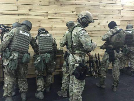 Тренировка спецназа НАБУ