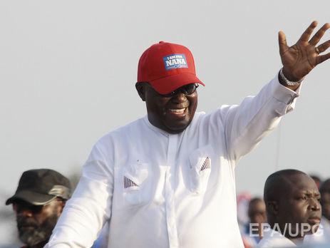 Действующий президент Ганы признал поражение навыборах