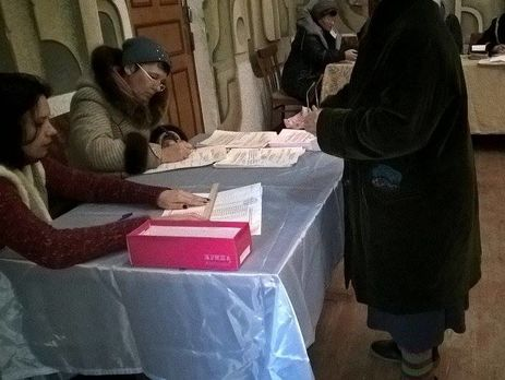 Выборы в41 территориальной общине государства Украины завершились