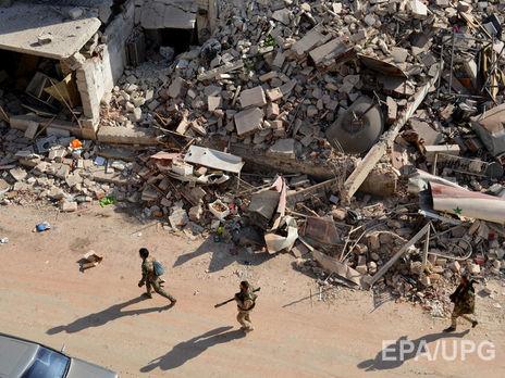 Вооруженная оппозиция пока не ответила на предложение о выходе из Алеппо