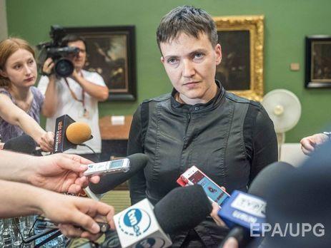 ВСБУ прокомментировали вероятную встречу Савченко сбоевиками вМинске
