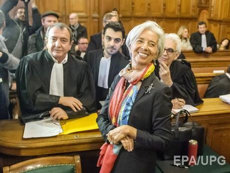 Руководитель МВФ предстанет перед французским судом пообвинению в«халатности»