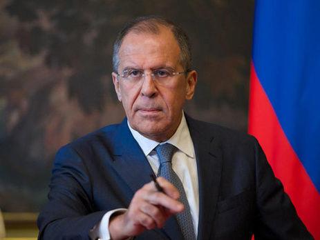 Лавров назвал провокацией идею столицы Украины сделать группировку НАТО вЧерном море