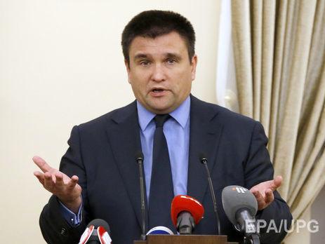 Кремль умышленно затягивает переговоры поДонбассу— Климкин