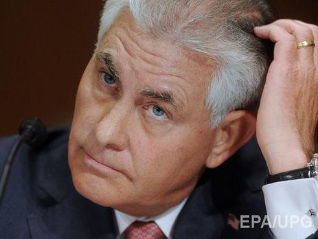Госдеп: Сенат может неподдержать кандидатуру Тиллерсона надолжность госсекретаря США