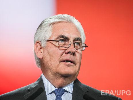 Назначенный госсекретарем Тиллерсон подал вотставку споста руководителя ExxonMobil