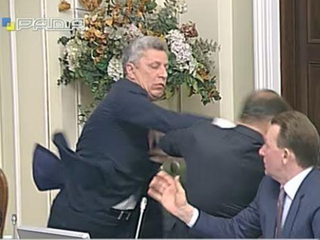 Потасовкой нардепов Бойко иЛяшко займется прокуратура