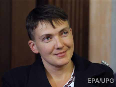Савченко поведала, очем согласилась сбоевиками