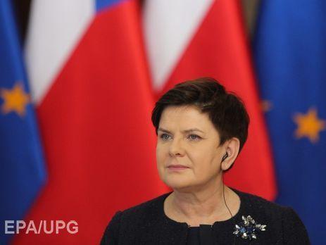 Шидло: Польша насаммитеЕС предлагала продлить санкции противРФ нагод
