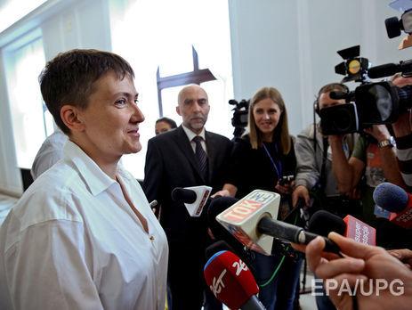 Савченко отказалась считать лидеров ДНР иЛНР террористами