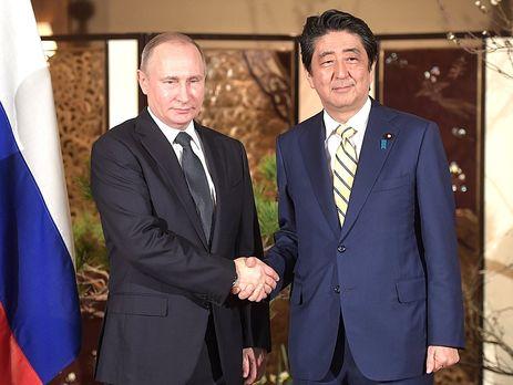 ВКремле прокомментировали рассмотрение Путиным иАбэ вопроса суверенитета над Курилами