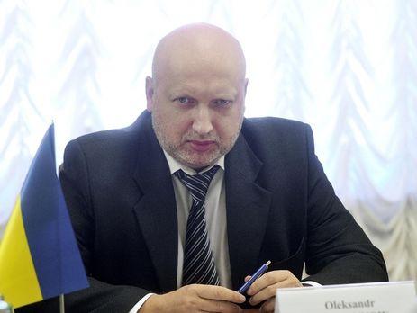Турчинов: Убийцы на захваченных территориях Донбасса должны дрожать от собственной обреченности
