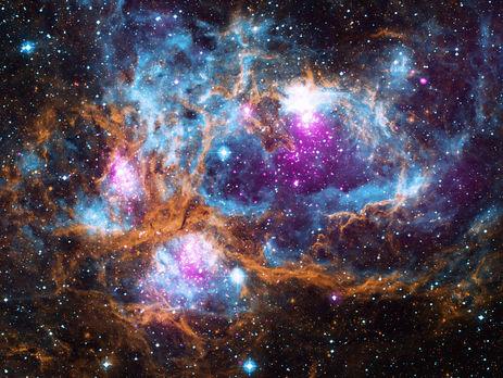 NASA показали неимоверно красивый снимок