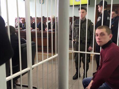 Стрельба по БМВ: дело полицейского Олийныка передано всуд