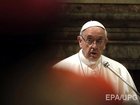 Освободить Рождество иззаложников материалистического мира— Папа Римский